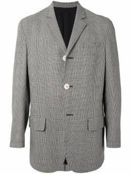 Undercover клетчатый пиджак прямого кроя UCZ41011