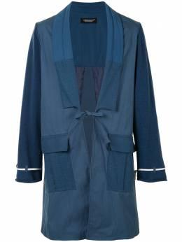 Undercover куртка с лацканами-шалькой UCZ4309