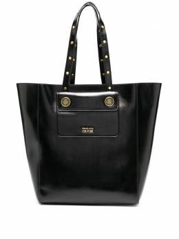 Versace Jeans Couture сумка-тоут с тисненым логотипом E1VZBBK571730