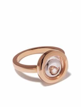 Chopard кольцо Happy Spirit из розового и белого золота с бриллиантами 8282309010