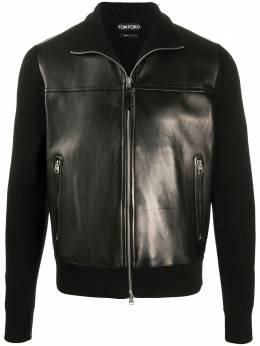 Tom Ford panelled zip-up jacket BVM86TFK157