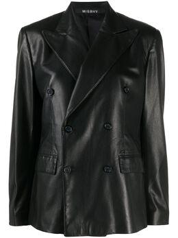 Misbhv faux leather blazer 120W154