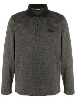 Karl Lagerfeld рубашка поло с длинными рукавами 7450110502215