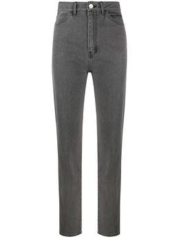 David Koma узкие джинсы с завышенной талией AW20DK11TR