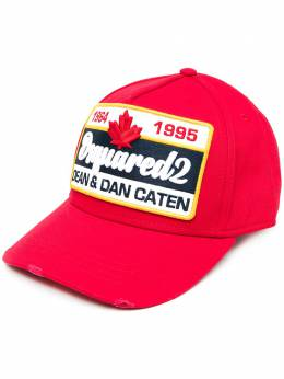 Dsquared2 кепка с нашивкой-логотипом BCM036405C00001