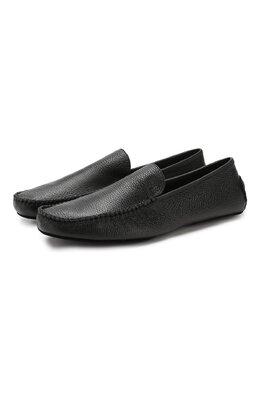 Кожаные домашние туфли Moreschi 98000/DEERSKIN
