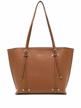 DKNY сумка-тоут трапециевидной формы с логотипом R03A1J56