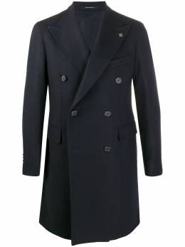 Tagliatore двубортное пальто CSBL10B50SIC019