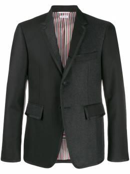 Thom Browne пиджак с контрастными вставками MJC001K00021
