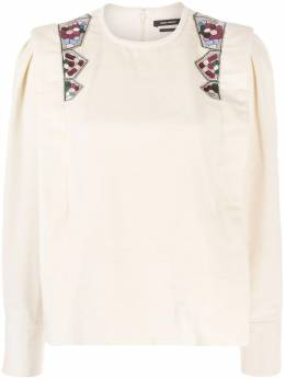 Isabel Marant блузка с вышивкой HT196120H034I