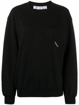 Off-White logo cotton sweatshirt OWBA046F20JER0011001