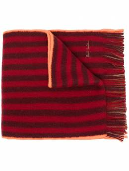 Paul Smith шарф в полоску M1A421FES10