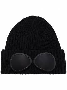 C.P. Company шапка бини с линзами 08CMAC107A000727A