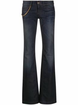 Gucci расклешенные джинсы с цепочкой 284512XZ831