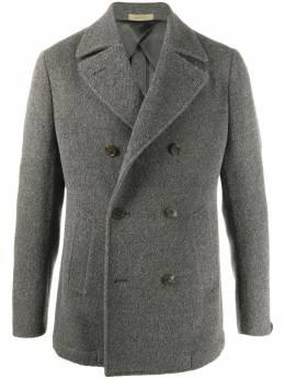 Corneliani двубортное пальто 8612040812675