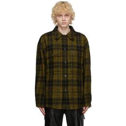 Wooyoungmi Yellow Wool Plaid Jacket JP02
