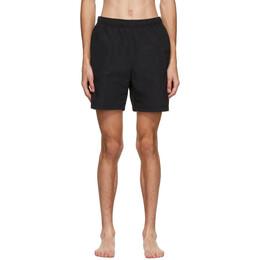 Stussy Black Stock Water Shorts 113120