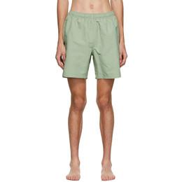 Stussy Green Stock Water Shorts 113120