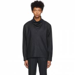 Isabel Marant Black Faded Farley Turtleneck HT1939-20H017H