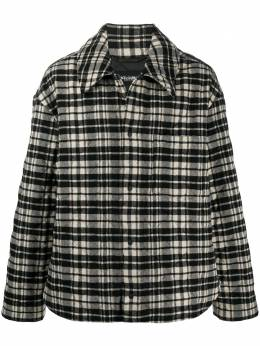 Dolce&Gabbana checked padded jacket G9TB0TFQMIC