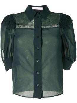 See By Chloe блузка с пышными рукавами CHS20WHT33013