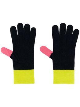 Chinti And Parker трикотажные перчатки с контрастными вставками AU03