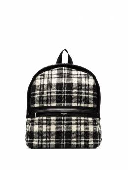Saint Laurent Camp check-pattern backpack 634721GKPDE