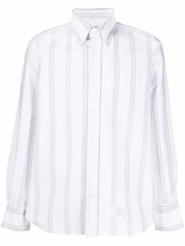 Thom Browne рубашка оксфорд в полоску MWL272A06838