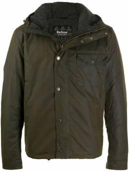 Barbour green lightweight rain jacket MWX1372