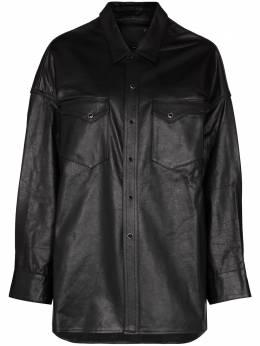 R13 рубашка оверсайз в стиле вестерн R13W9341MAT