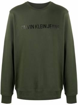Calvin Klein Jeans толстовка с круглым вырезом и логотипом J30J307758LDD