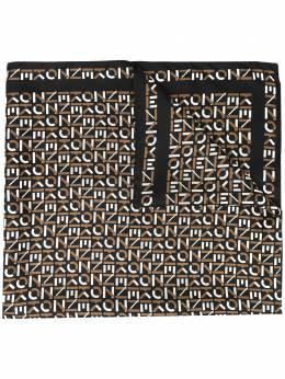 Kenzo шарф с монограммой FA68EW712PFN