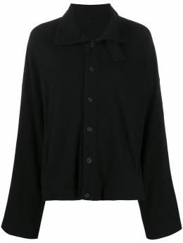 Yohji Yamamoto loose-fit button-up cardigan NRT07173