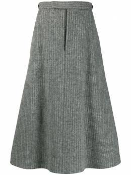 Thom Browne юбка А-силуэта со складками FGC762A06879