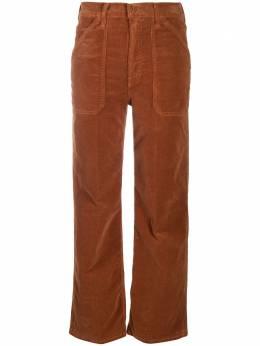 Mother укороченные вельветовые брюки 10007618