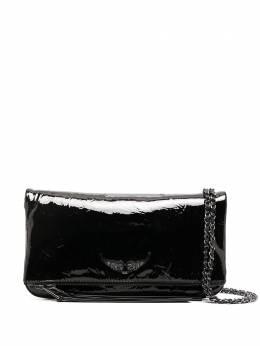 Zadig & Voltaire виниловая сумка-тоут WHAP2043F
