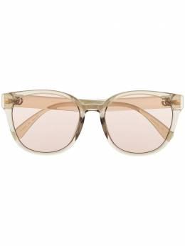 Gucci Eyewear солнцезащитные очки в круглой оправе GG0855SK004