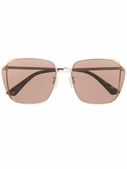 MCQ by Alexander McQueen массивные солнцезащитные очки в геометричной оправе MQ0287SA