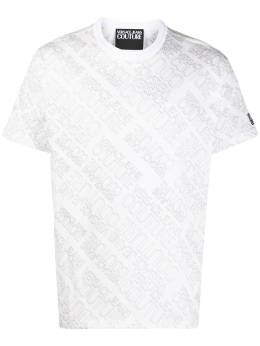 Versace Jeans Couture logo print short-sleeved T-shirt EB3GZB7RAES0960