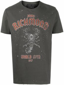 John Richmond World Tour print cotton T-shirt RMA20095TSA8