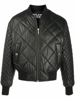 Versace Jeans Couture padded zip-up lambskin jacket EECGZB901E25017