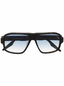 Puma солнцезащитные очки-авиаторы с эффектом градиента PU0308S002