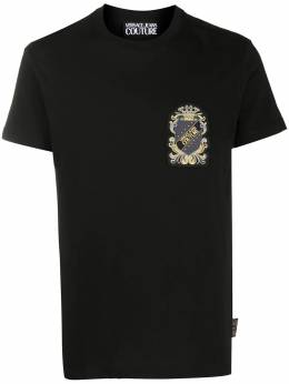 Versace Jeans Couture logo print short-sleeved T-shirt EB3GZB7TDE30319