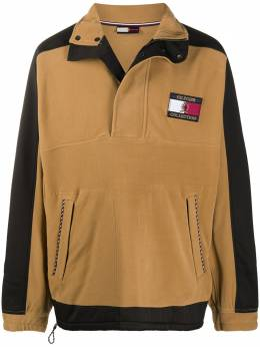 Tommy Hilfiger panelled logo patch sweatshirt RE0RE00637