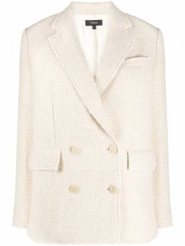 Theory textured double-breasted blazer K0901104