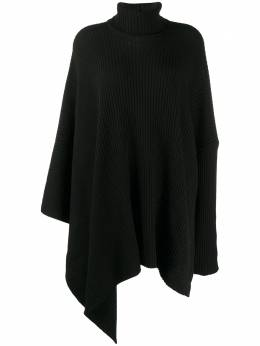 Y's ribbed-knit draped jumper YRT74172