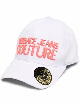 Versace Jeans Couture logo embroidered baseball cap E8HZAK1085075