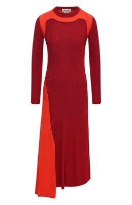 Шерстяное платье Alexander McQueen 633700/Q1AQ0