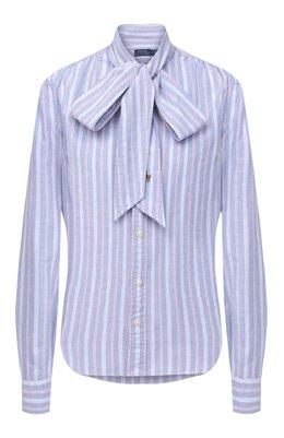 Хлопковая блузка Polo Ralph Lauren 211780620