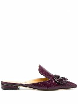 Giannico Daphne crystal mules GM000115CP30337077